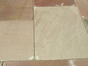 Raveena-Tumbled paving stone