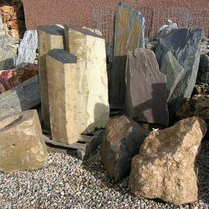 Rockery, Boulders and Feature Stones