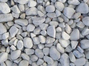 white-pebble